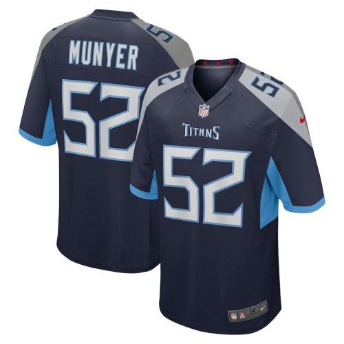 Men's Daniel Munyer Navy Player Limited Team Jersey
