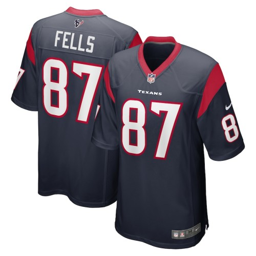 Men's Darren Fells Navy Player Limited Team Jersey