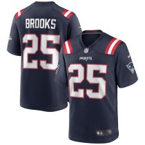 Men's Terrence Brooks Navy Player Limited Team Jersey