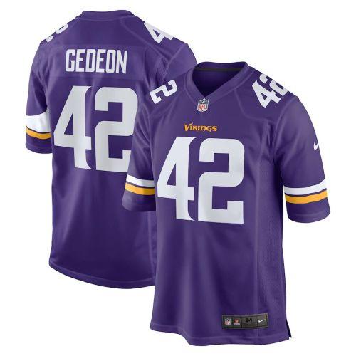 Men's Ben Gedeon Purple Player Limited Team Jersey