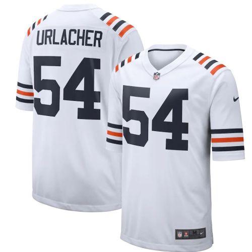 Men's Brian Urlacher White 2019 Alternate Classic Retired Player Limited Team Jersey