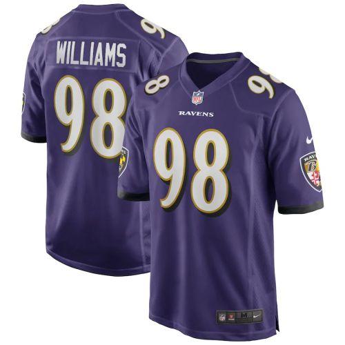 Men's Brandon Williams Purple Player Limited Team Jersey