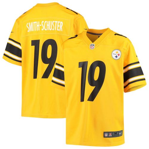 Men's JuJu Smith-Schuster Gold Inverted Player Limited Team Jersey