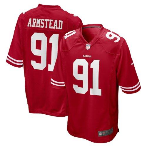 Men's Arik Armstead Scarlet Player Limited Team Jersey