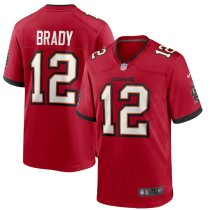 Men's Tom Brady Red Player Limited Team Jersey