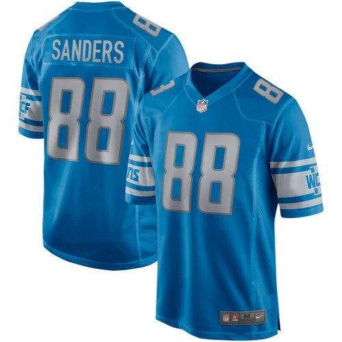 Men's Charlie Sanders Blue Retired Player Limited Team Jersey
