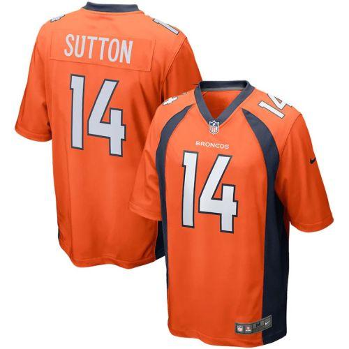 Men's Courtland Sutton Orange Player Limited Team Jersey