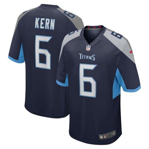 Men's Brett Kern Navy Player Limited Team Jersey