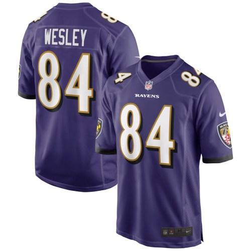 Men's Antoine Wesley Purple Player Limited Team Jersey