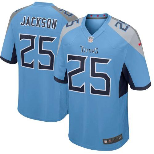 Men's Adoree' Jackson Light Blue Player Limited Team Jersey