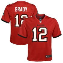 Youth Tom Brady Red Player Limited Team Jersey
