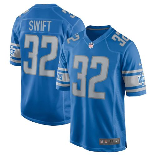 Men's D'Andre Swift Blue Player Limited Team Jersey