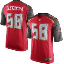 Men's Kwon Alexander Red Player Limited Team Jersey