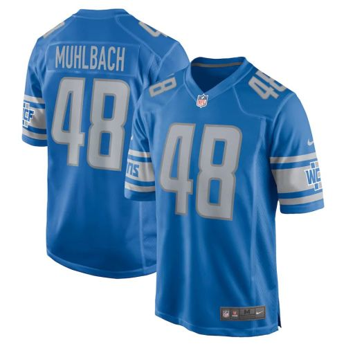 Men's Don Muhlbach Blue Player Limited Team Jersey