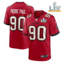 Men's Jason Pierre-Paul Red Super Bowl LV Player Limited Team Jersey