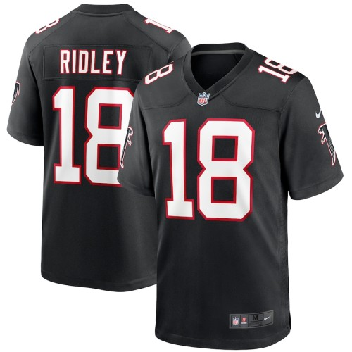 Men's Calvin Ridley Black Throwback Player Limited Team Jersey
