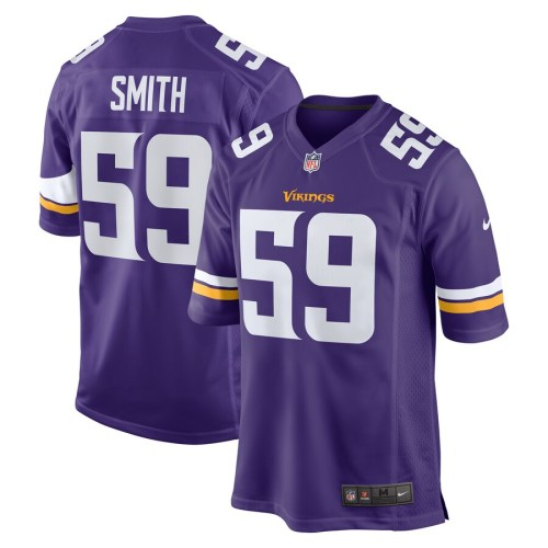 Men's Cameron Smith Purple Player Limited Team Jersey