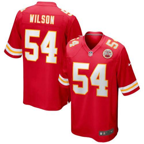 Men's Damien Wilson Red Player Limited Team Jersey