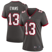 Women's Mike Evans Pewter Alternate Player Limited Team Jersey