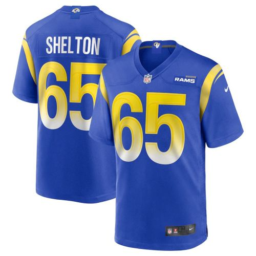 Men's Coleman Shelton Royal Player Limited Team Jersey