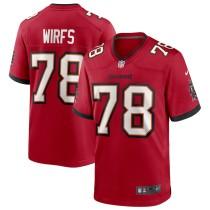 Men's Tristan Wirfs Red Player Limited Team Jersey