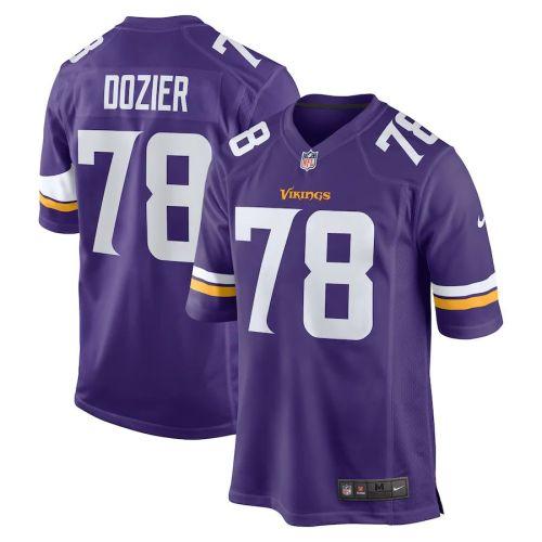 Men's Dakota Dozier Purple Player Limited Team Jersey