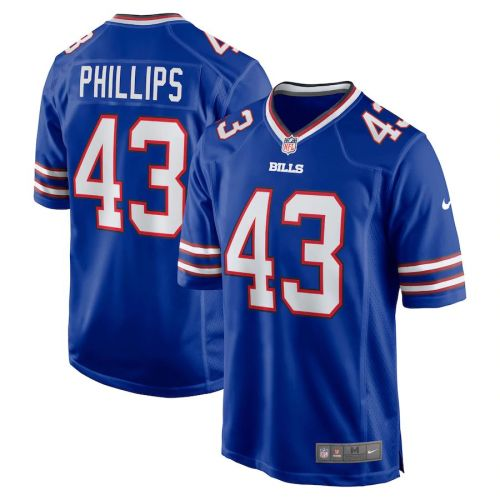 Men's Del'Shawn Phillips Royal Player Limited Team Jersey