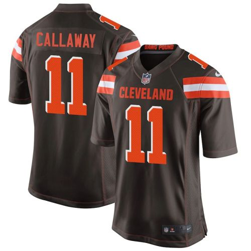 Men's Antonio Callaway Brown Player Limited Team Jersey