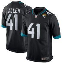 Men's Josh Allen Black Player Limited Team Jersey