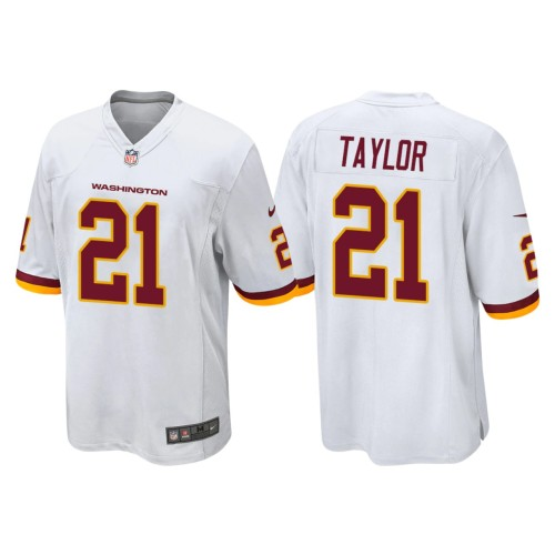Men's #21 Sean Taylor White Retired Player Limited Team Jersey