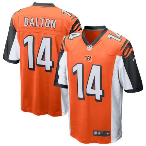 Men's Andy Dalton Orange Player Limited Team Jersey