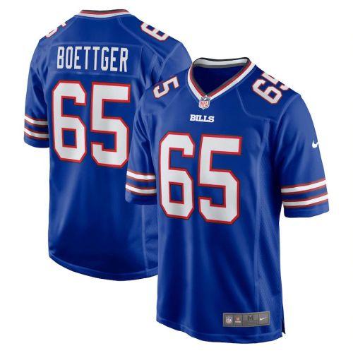Men's Ike Boettger Royal Player Limited Team Jersey