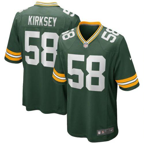 Men's Christian Kirksey Green Player Limited Team Jersey