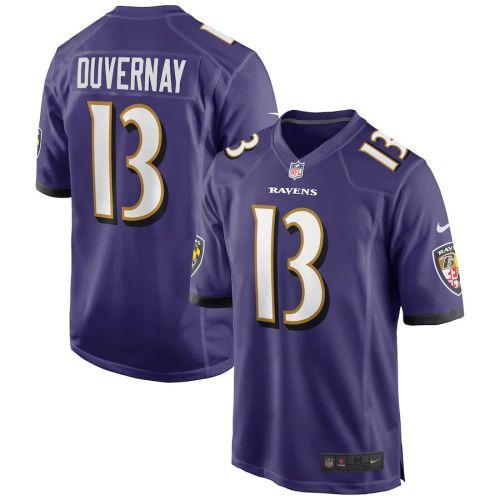 Men's Devin Duvernay Purple Player Limited Team Jersey