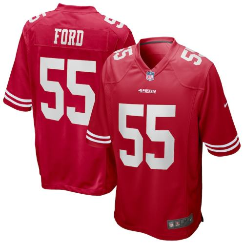 Men's Dee Ford Scarlet Player Limited Team Jersey