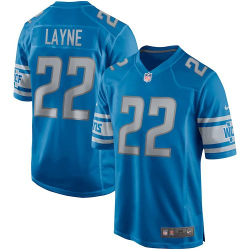 Men's Bobby Layne Blue Retired Player Limited Team Jersey