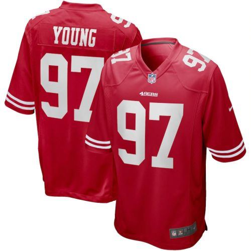 Men's Bryant Young Scarlet Retired Player Limited Team Jersey