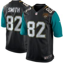 Men's Jimmy Smith Black Retired Player Limited Team Jersey