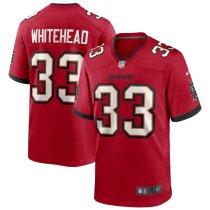 Men's Jordan Whitehead Red Player Limited Team Jersey