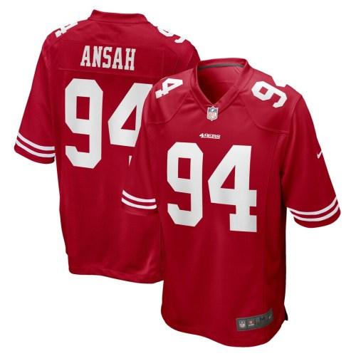 Men's Ezekiel Ansah Scarlet Player Limited Team Jersey