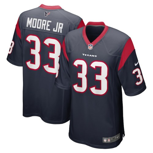 Men's A.J. Moore Jr. Navy Player Limited Team Jersey