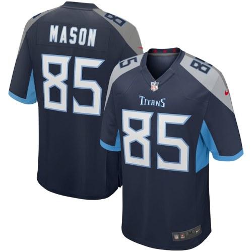 Men's Derrick Mason Navy Retired Player Limited Team Jersey
