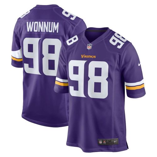 Men's D.J. Wonnum Purple Player Limited Team Jersey