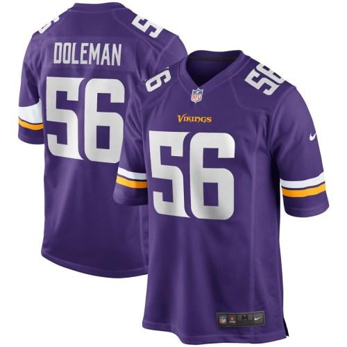 Men's Chris Doleman Purple Retired Player Limited Team Jersey