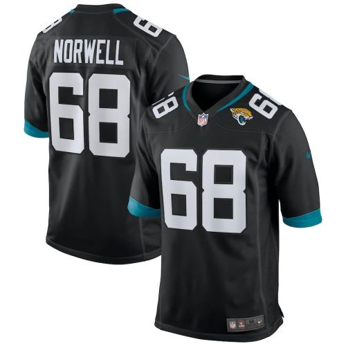 Men's Andrew Norwell Black Player Limited Team Jersey
