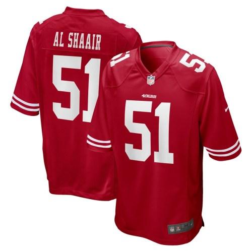 Men's Azeez Al-Shaair Scarlet Player Limited Team Jersey