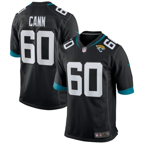 Men's A.J. Cann Black Player Limited Team Jersey