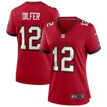 Women's Trent Dilfer Red Retired Player Limited Team Jersey