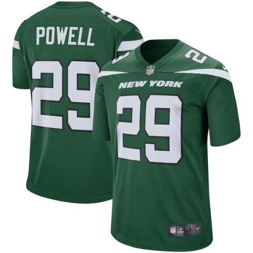 Men's Bilal Powell Green Player Limited Team Jersey
