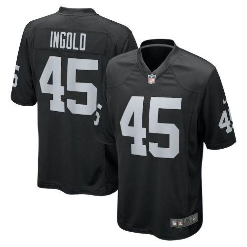 Men's Alec Ingold Black Player Limited Team Jersey